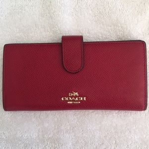 COACH snap closure wallet